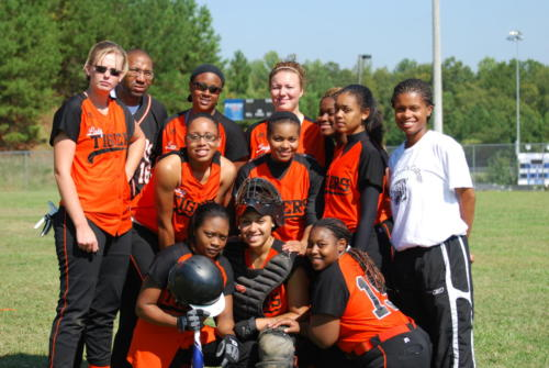 Saint Pauls Softball at NCCU 10-3-09