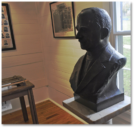 Bust of Rev.J.S Russell
