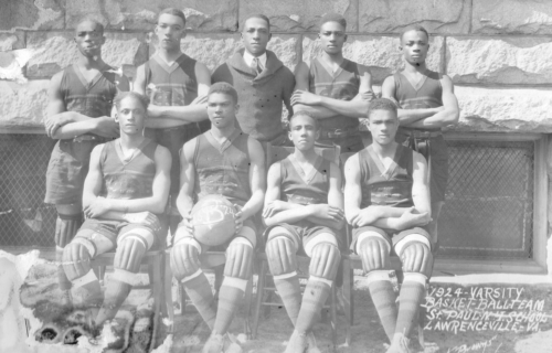 Saint-Paul's-1924-Basketball-Team